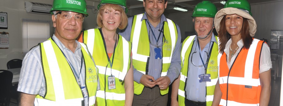 Senior UK Government officials visit LADOL
