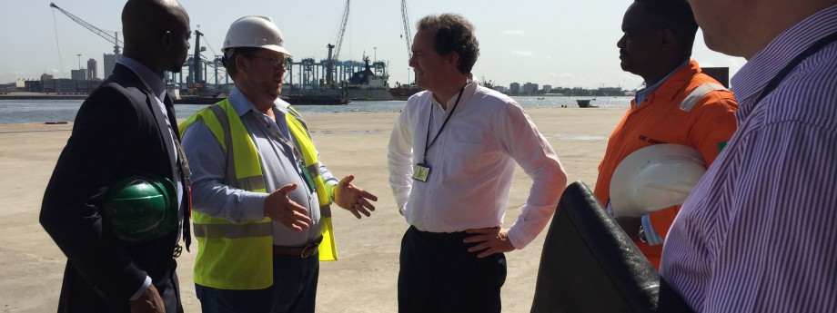 UK Minister for International Development visits LADOL