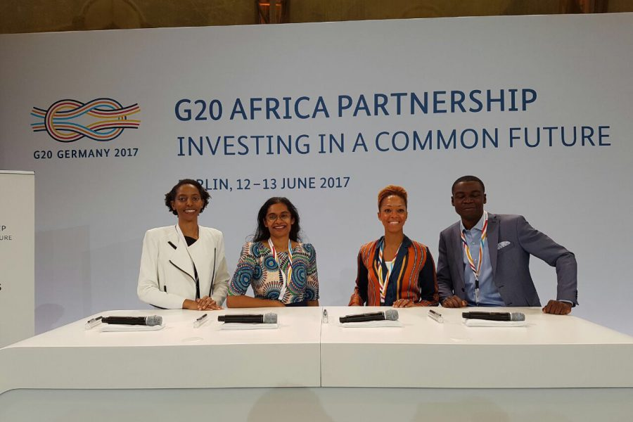 LADOL CEO attends G20 Africa Summit