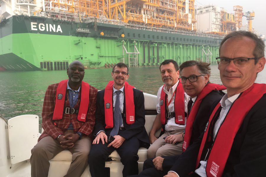 French Delegation visit LADOL