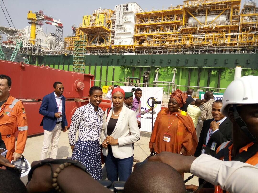 Egina FPSO arrives at LADOL | LADOL | Lagos Deep Offshore Logistics Base