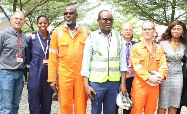 Minister of Petroleum visits EGINA