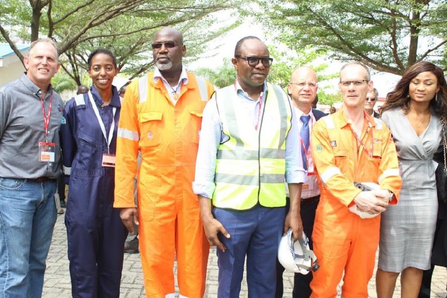 Minister of Petroleum visits EGINA