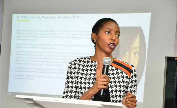 Dr Amy Jadesimi speaks at Shell Nigeria Women's Network on IWD2018