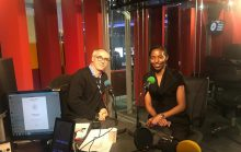 MD LADOL at BBC World Service Studios for Business Daily program