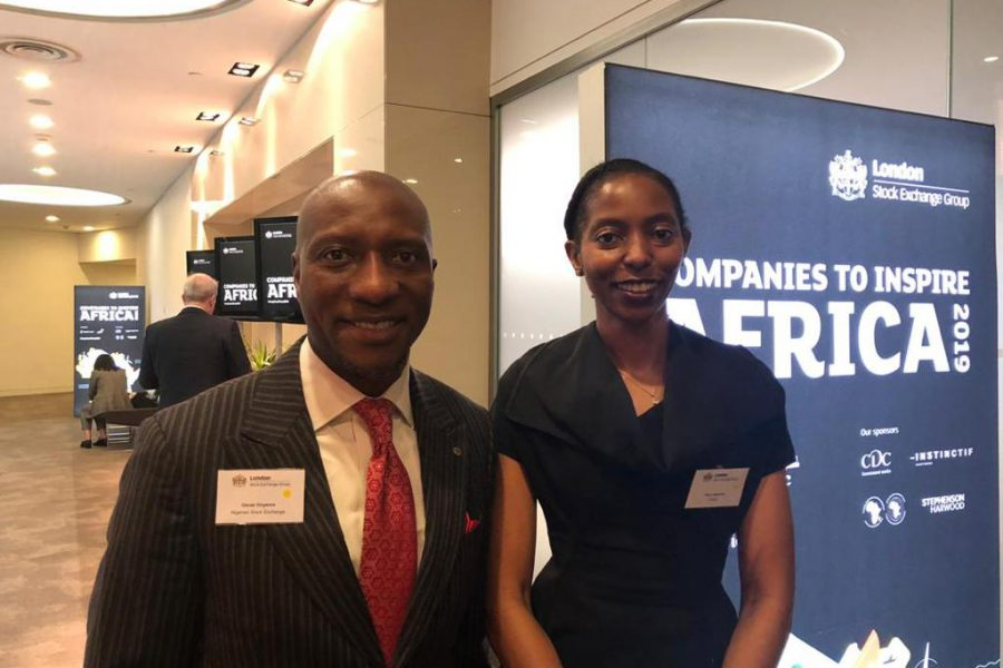 CEO Nigerian Stock Exchange and MD LADOL at London Stock Exchange