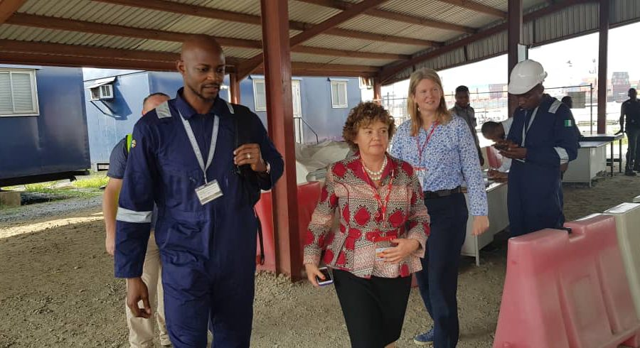 New British High Commissioner Visit LADOL Free Zone hosted by Mr Jide Jadesimi