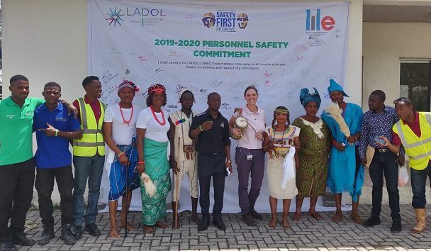 LADOL Staff and Stakeholders Celebrate Safety Week