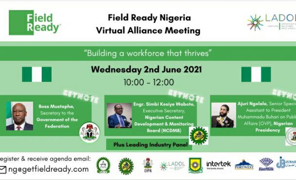 Field Ready and Ladol Upskilling Academy to host virtual meetings of the Field Ready Nigeria Alliance